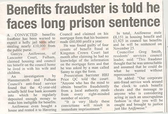 Benefit Fraud Lawyers London Legal Firm Hyltonpotts Com