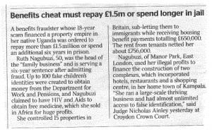 Benefit cheat must repay £1.5million